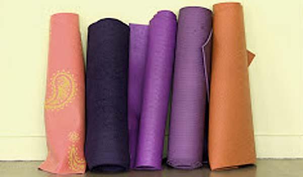 History of yoga mats
