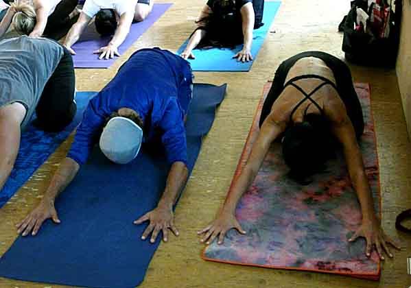 Yoga Mat Etiquette-yoga class