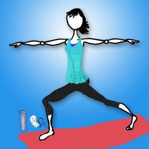 Dressing the female yogi for hot weather