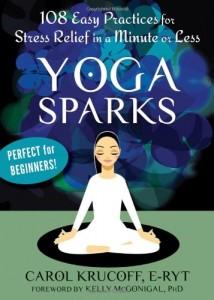Yoga Sparks book cover