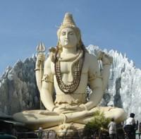 statue of Shiva in Banaglore