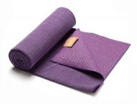 purple hugger mugger eco bamboo mat towel