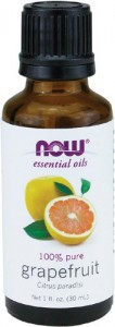 now grapefruit oil bottle