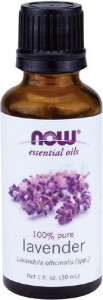 now lavender oil bottle