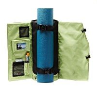 yoga sak mat bag open view