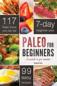 Paleo for Beginners book cover