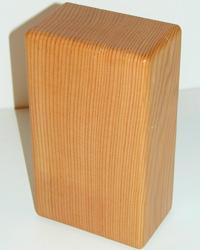Recycled Lumber Yoga Block