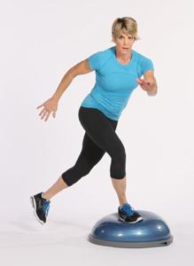 Bosu Balance Trainer-standing