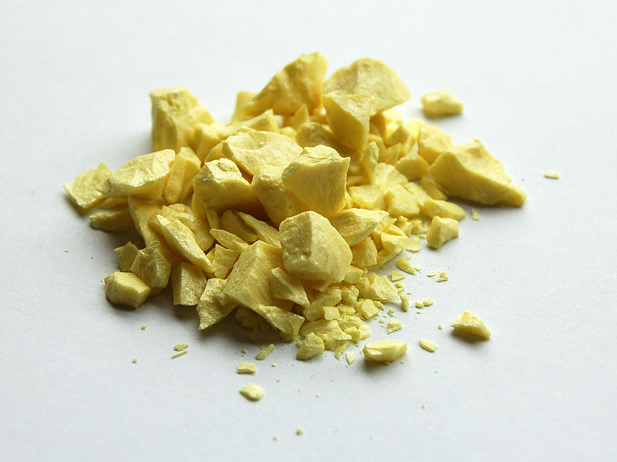 Sulfur-sample