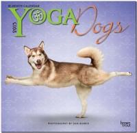 Yoga dogs calendar
