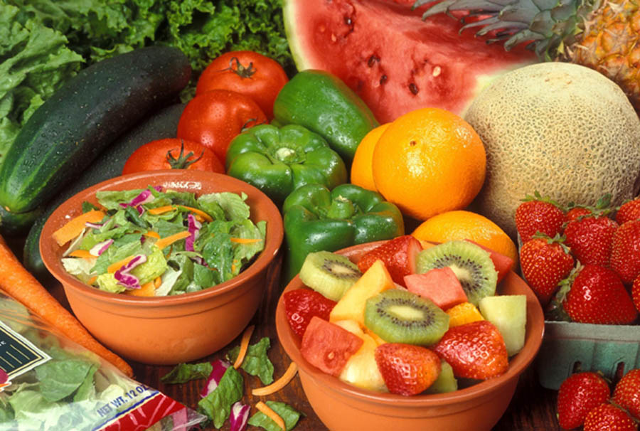 fresh-cut-fruits-and-vegetables for meals