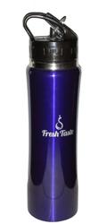 fresh taste stainless steel sports water bottle