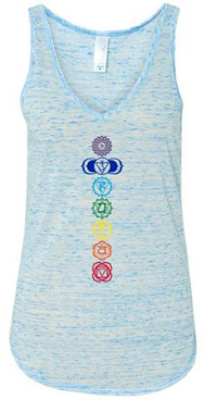 yoga clothing flowing tank