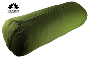 waterglide organic cotton yoga bolster