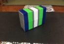 Recycled Material Yoga Block