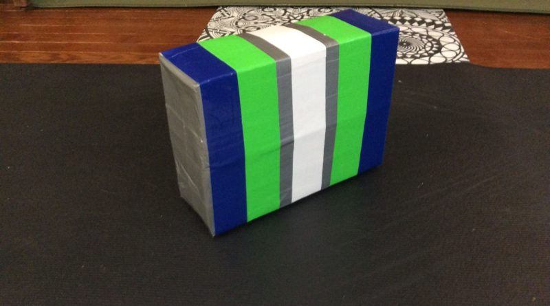 Recycled Material Yoga Block