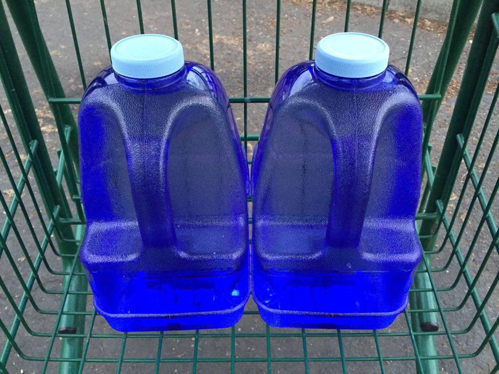 gallon jugs